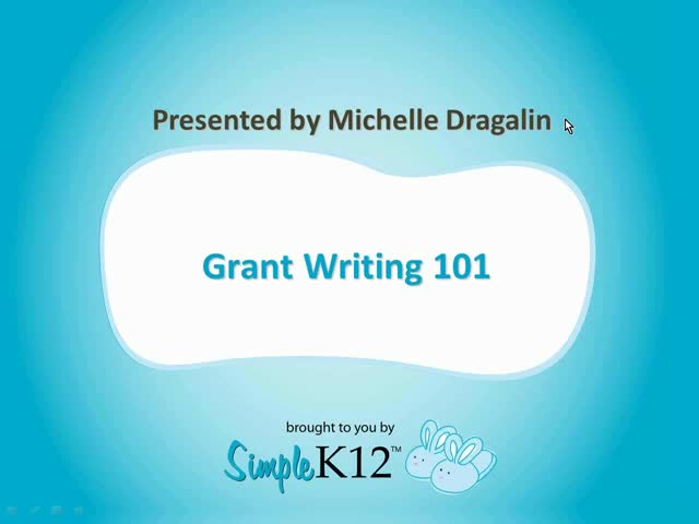 grant writing webinar Here is a listing of the free grant writing webinars (recordings) that were presented by diane h leonard, gpc and are available to you at no charge.