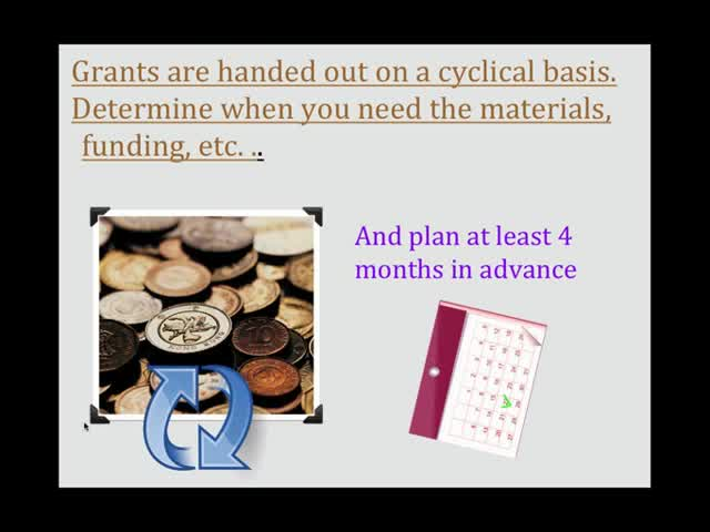 grant writing webinar Certain mistakes can instantly kill your proposal's chance of being funded and thus intimidates us from looking for foundation funding and writing grant proposals.