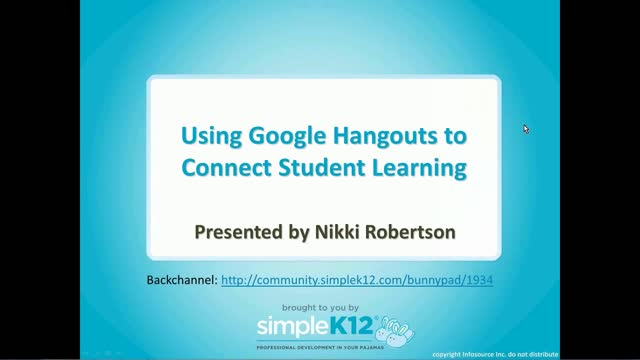 how to use google hangouts for webinar