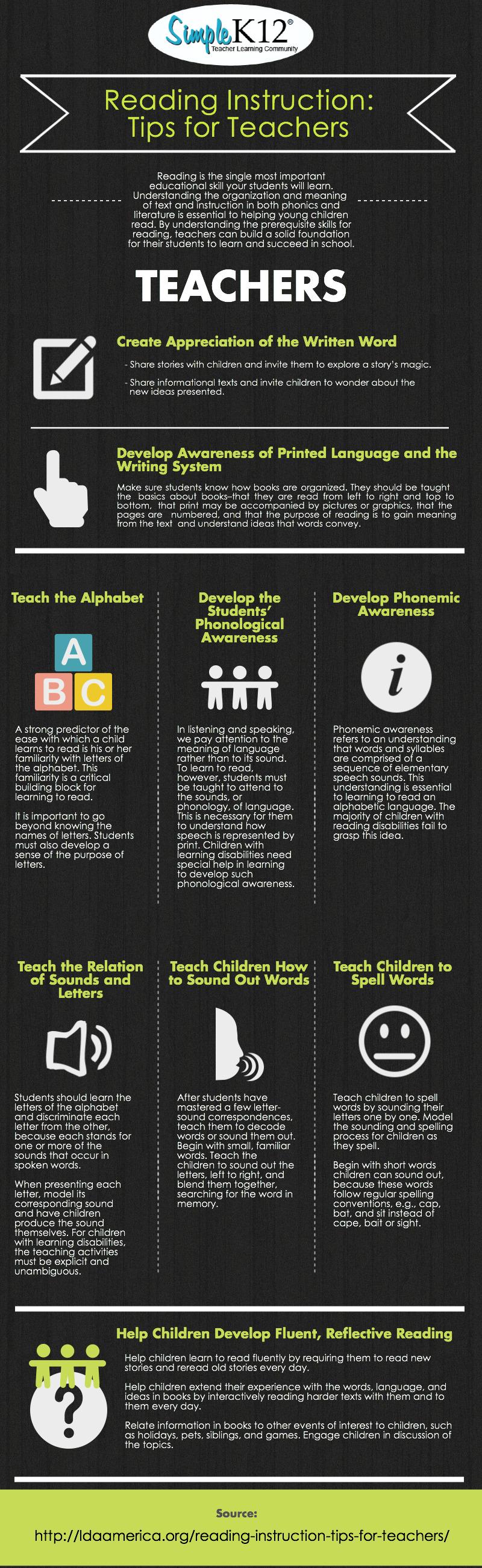 ReadingInstruction TeacherTips