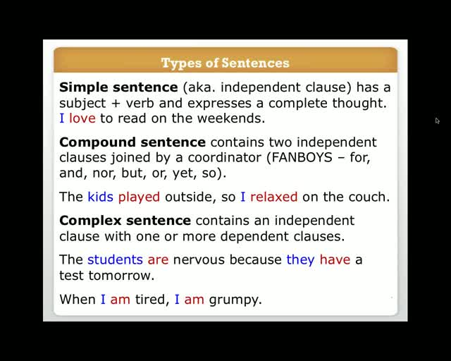 writing how to write a strong paragraph webinar  simplek12