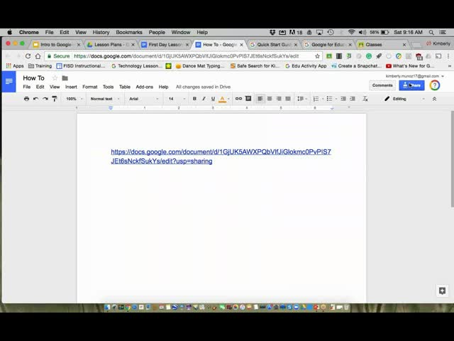 Google Drive and Tools: An Introductory Overview